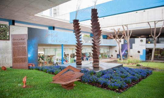 L'Hospitalet ret homenatge a les víctimes de la Covid-19 amb un espai que convida a la reflexió a l'Hospital de Bellvitge