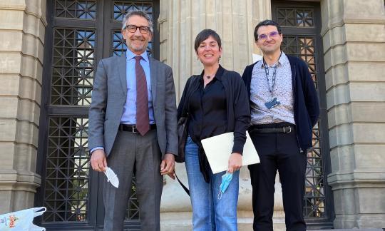 La Dra. Fina Climent defensa la seva tesi doctoral