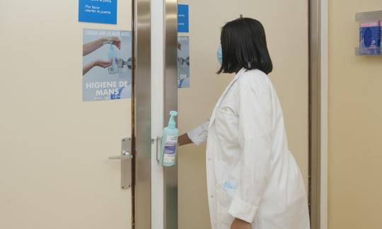 L'Hospital de Bellvitge se suma al Dia Mundial de la Higiene de Mans