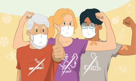 L'Hospital de Bellvitge se suma a la Setmana sense Fum