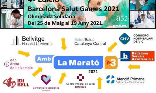 Professionals de l'hospital participen per 1a vegada als BCN Salut Games