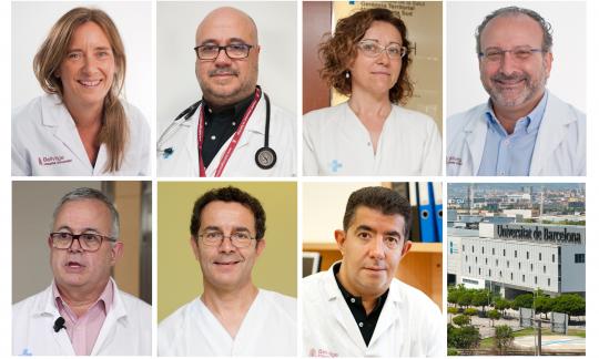 Set facultatius i facultatives de l'HUB guanyen una plaça de professor agregat de la Universitat de Barcelona