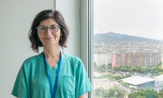 La Dra. Carmen Monasterio, escollida nova presidenta de la Societat Catalana de Pneumologia