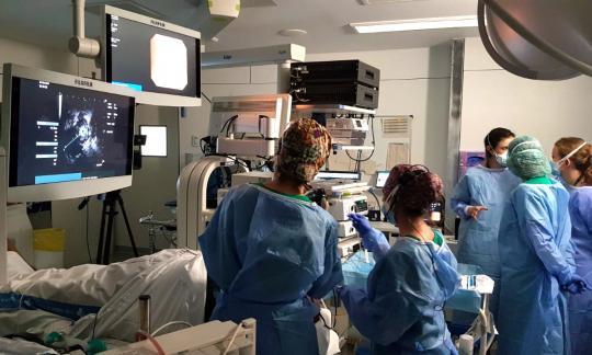 La Unitat d'Endoscòpia Respiratòria organitza el 1r Curs d'Infermeria Experta en Pneumologia Intervencionista