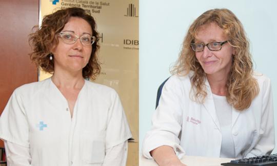 La Dra. Salud Santos i la Dra. Maria Molina, entre els deu pneumòlegs més destacats de Catalunya