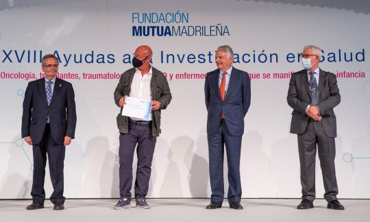 Un projecte de recerca de l'HUB sobre cirurgia de maluc rep un ajut de la Fundación Mutua Madrileña