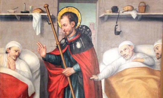 RecuperART-19 ofereix als professionals de l'HUB una visita guiada al retaule de Sant Roc del Museu de l'Hospitalet – L'Harmonia