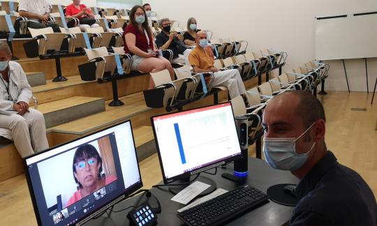 Jordi Càmara defensa la seva tesi doctoral sobre el pneumococ en l'era de les vacunes conjugades